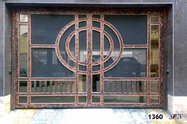 درب فلزی بسیار شیک و زیبا مناسب برای ورودی حیاط , پارکینگ و ساختمان کد ۲۳۸