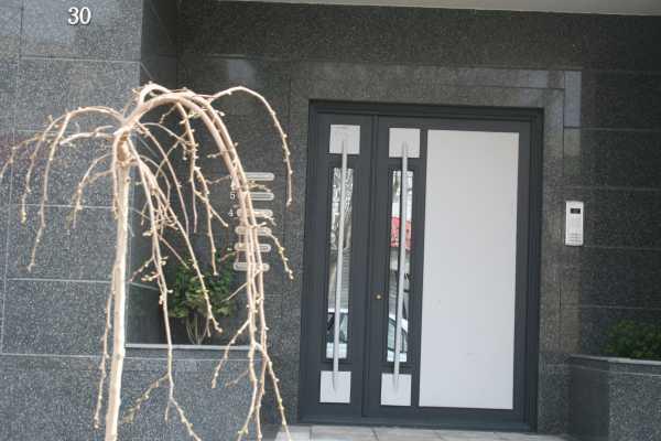 درب فلزی نفر رو خیلی زیبا و شک مناسب برای ورودی حیاط و ساختمان کد ۹۸