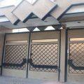 درب فلزی ورودی ساختمان و نفر رو با طرحی شیک و به روز کد 433