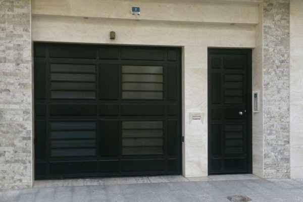 نمونه درب فلزی ورودی نفر رو و پارکینگ بسیار شیک و زیبا و به روز کد 434
