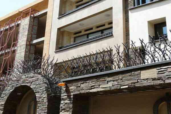 مدل حفاظ شاخ گوزنی دیوار کد 451