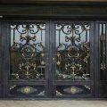 نمونه مدل شیک و زیبا از درب فلزی ورودی ساختمان کد 458