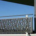 مدل شیک و زیبا از حفاظ فلزی تراس و بالکن با طرحی منحصر به فرد و مقاوم کد 467