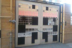 درب ورودی دو لنگه ساختمان کد 475